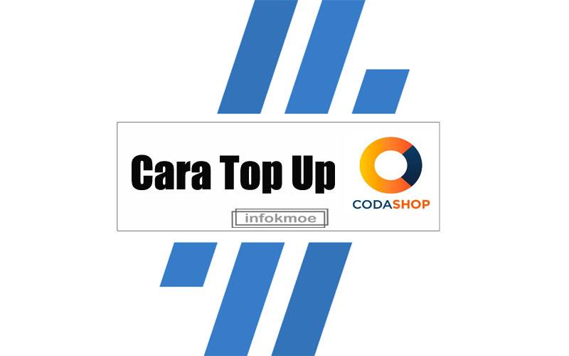 Cara Top Up Codashop