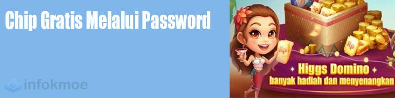 Chip Gratis Melalui Password